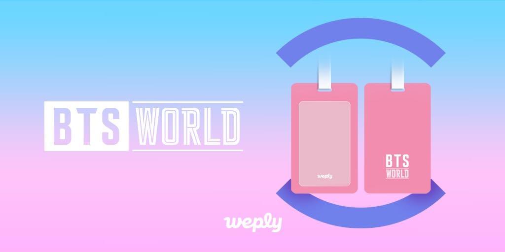 #BTS #BTSWORLD_OST #위플리 #BTSWORLD OST 예약 구매 특전 공개✨ 예약 판매 기간 동안 OST를 주문하시면, 예뻐서 여행을 더 즐겁게 해줄 여행용 네임텍을 드려요🎁 지금 구매하러가기 👉 app.weply.io/z2nwq #예약판매 6/28(금) 18:00 KST