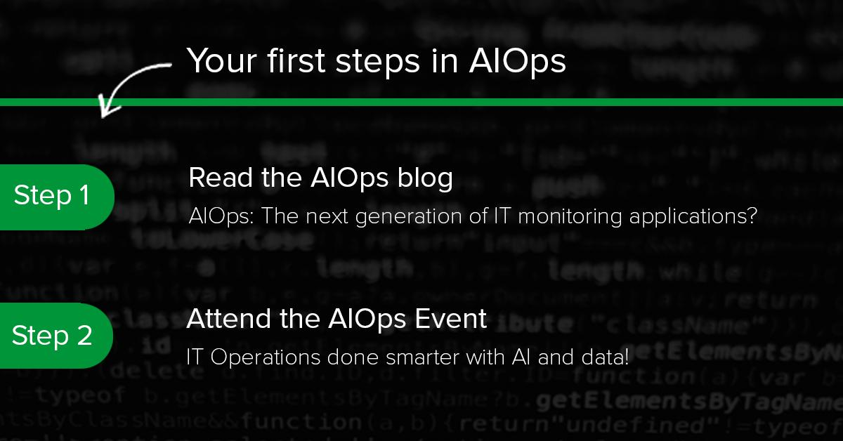test Twitter Media - So you are interested in AIOps but don't know where to start? No need to stress out. We have the first two steps lined up for you!  Step 1: Read the blog AIOps: https://t.co/U2Rr2IUkOl  Step 2: Attend the AIOPs event https://t.co/9bUwd303dI   #aiops #AI #IToperations https://t.co/O8fC3OQmgq