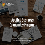 Image for the Tweet beginning: The UA&P Applied Business Economics