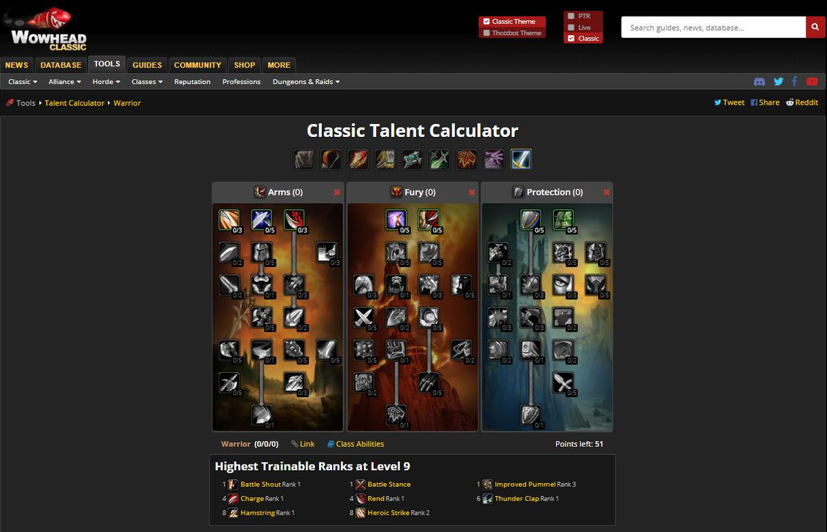 wow talent calculator