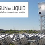 Image for the Tweet beginning: #SolarFuel breakthrough: First production of
