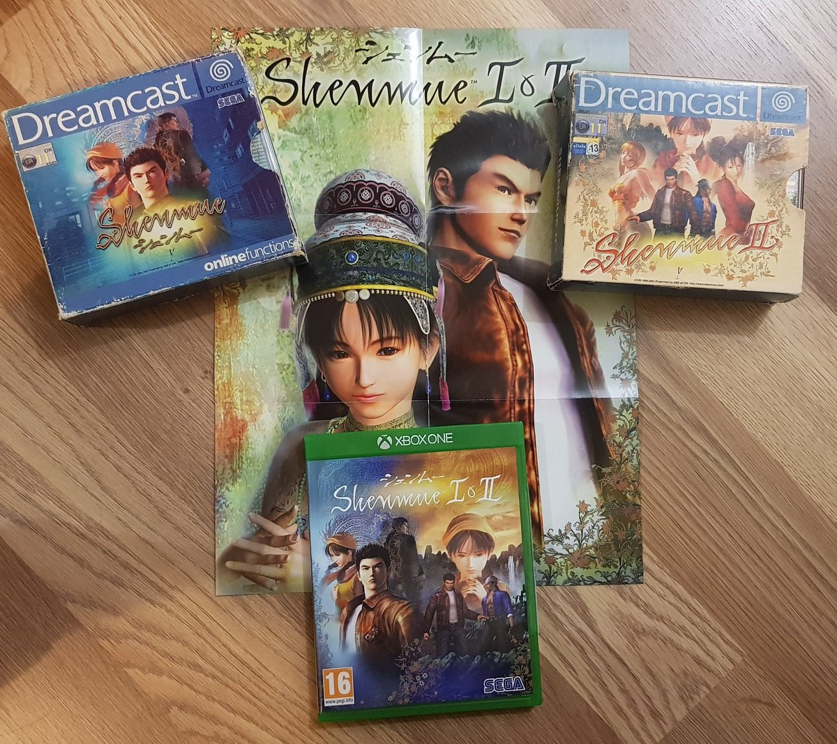 Having just finished the HD versions, fallen in love with them all over again and seen the amazing new footage of #Shenmue3, I couldn't do #ItsThinkingThursdays today without Shenmue and Shenmue 2, two very special games that'll forever be favourites. #Shenmue #ShareYourGames