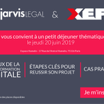 Image for the Tweet beginning: 🔈Invitation événement - Avec @JarvisLegal_FR