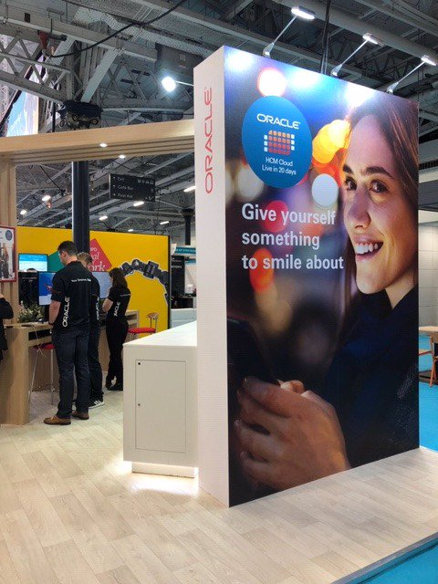 It may be raining outside, but come inside and meet the #Oracle #HCM team on Stand B130 at CIPD #FestivalofWork and let them help put a smile on your face with Oracle HCM Cloud - Live in 20 Days. Every Cloud has a silver lining and Oracle would love to be yours. #cloud