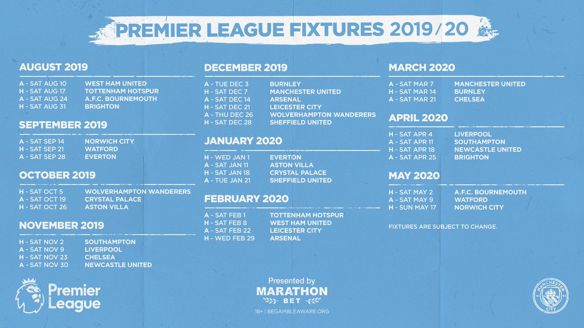2019/2020 Premier League Discussion: Prologue D87XjMHXkAELrx9