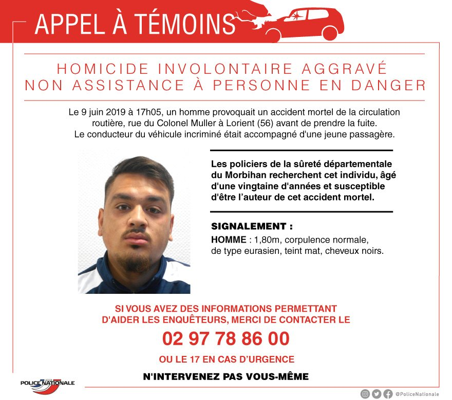 French police hunt hit-and-run driver who killed 9-year-old boy