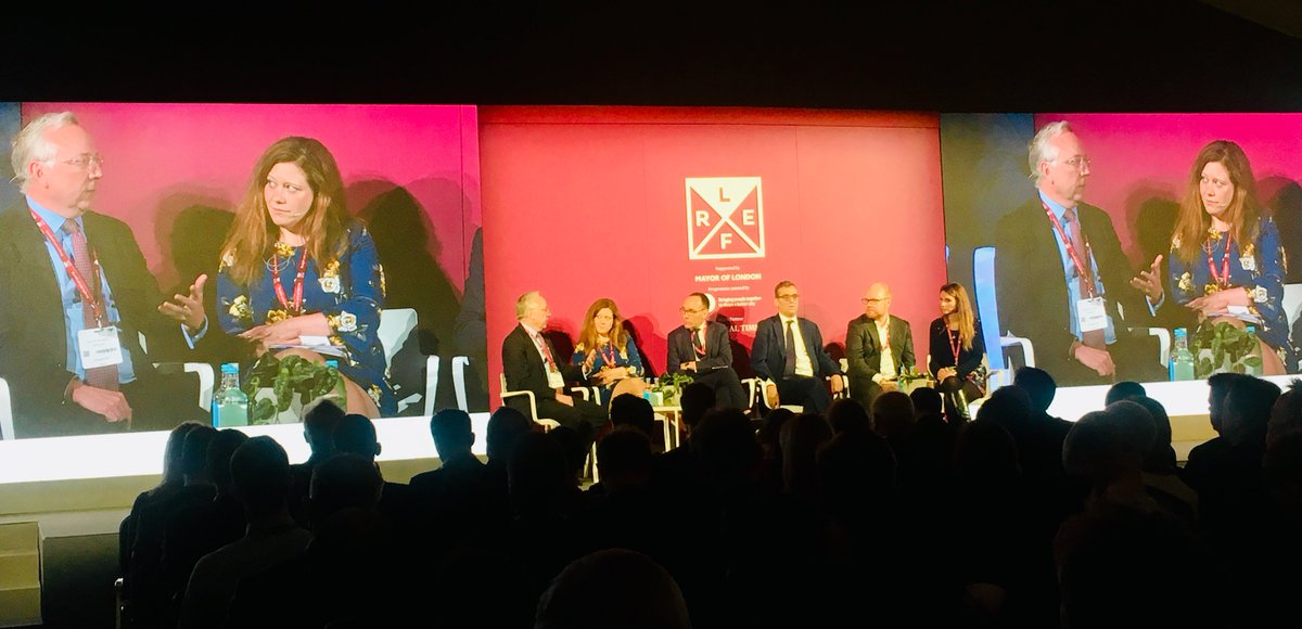 "RT @nlalondon Today's #LREF2019 keynote 'Question Time London', with a panel from @EstatesGazette @Savills @placesforpeople @derwentlondon @Laughology: ""Everything we do is about people - we must focus on the place, people in it & how they use it. It's about working together & communicating"""