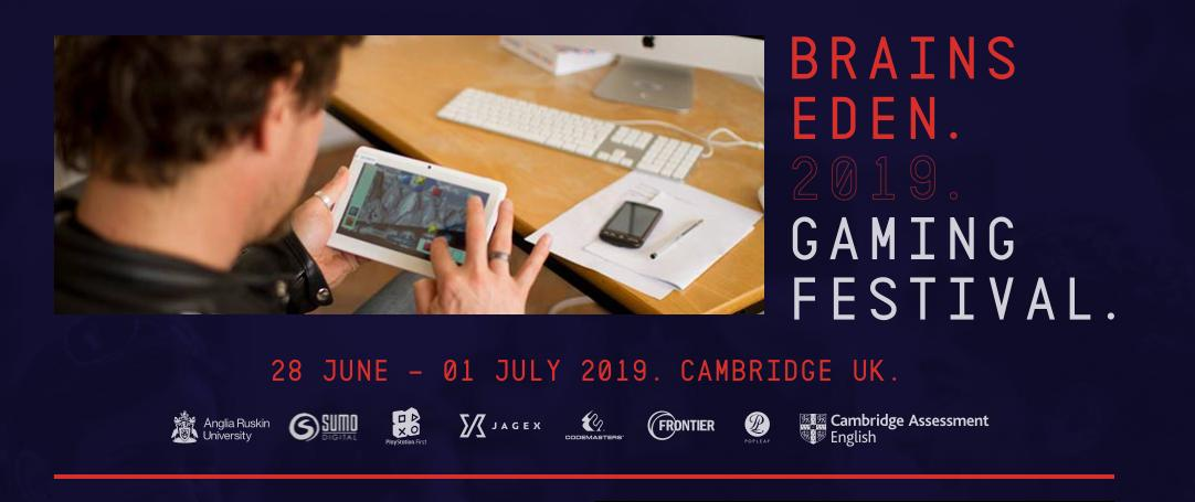 We're delighted to have four members of the Codies team on the judging panel for this year's @BrainsEden student games jam! 👩🎓👨🎓🎮  The event takes place later this month at Anglia Ruskin University, Cambridge. More info and registration details here 👉 http://www.brainseden.net/