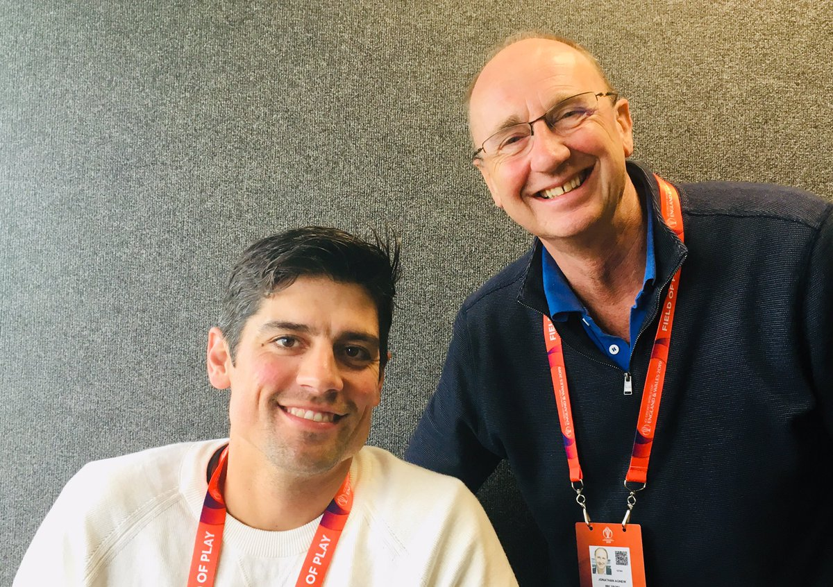 The chef is in the house. #BBCCricket #CWC19