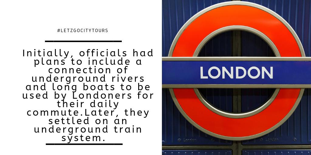 What would you prefer the train or a boat? #Londoner #LondonSubway LondonUnderground #TravelEurope #LondonTourism #DailyCommute #LetzGoCityTours #ExperienceTheExtraordinary