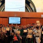 Image for the Tweet beginning: Finalizan los talleres municipales para