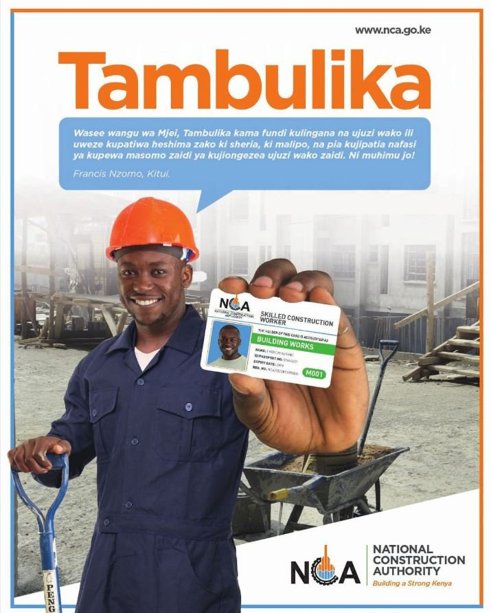 #Tambulika Get accredited as an artisan to be a part of NCA recognized professionals. #FreeAccreditation <RG>