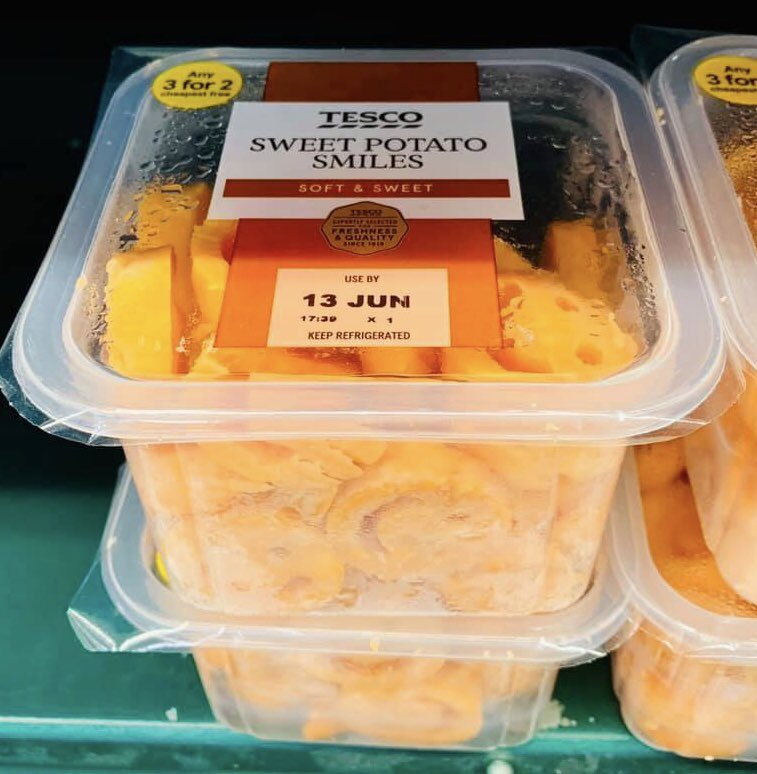 Well This Is New On Twitter Sweet Potato Smiles At