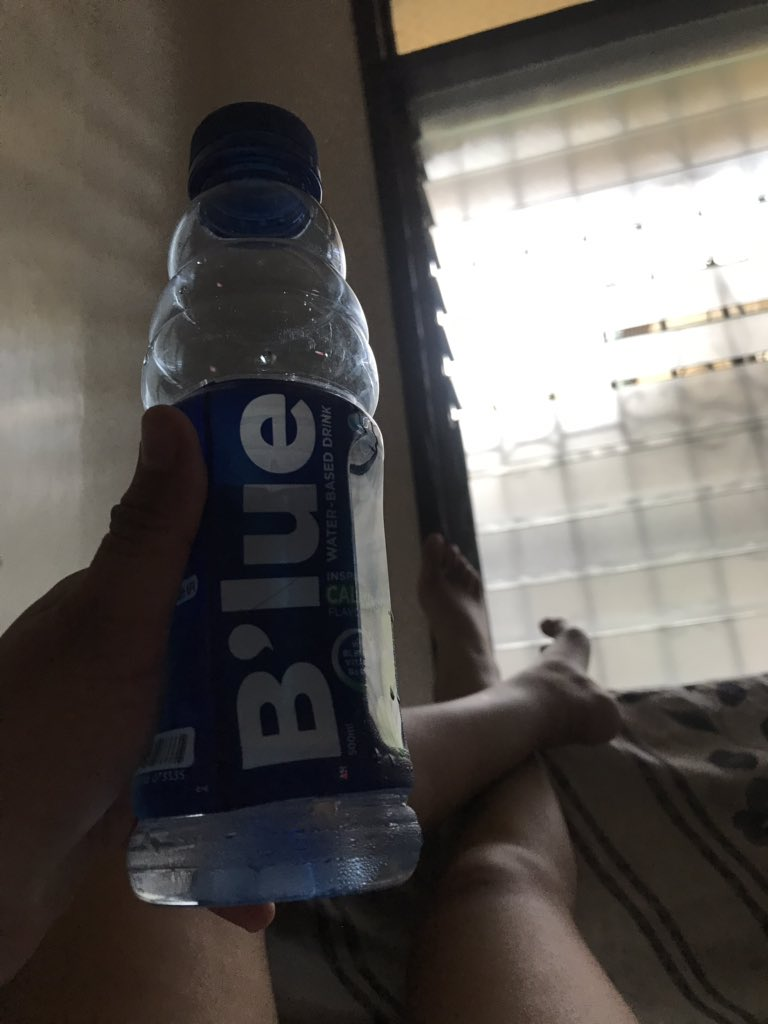 Tried this and it tastes so good. #QuenforBlue