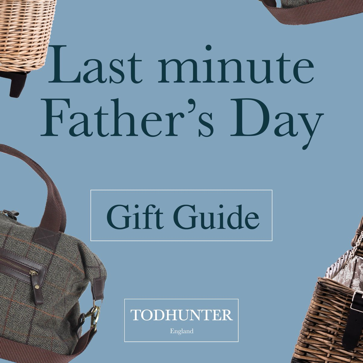 Have you left Father's Day to the last minute? Do not worry, our collection of luxury gifts is the perfect way to surprise your Dad!  Order by 14th June to get your gift in time for Sunday.  #fathersday #gardengifts #fathersdaygifts #giftideas   #lastminutefathersday #hampers