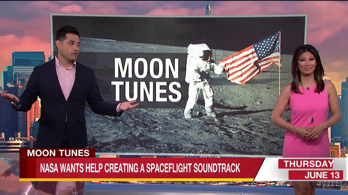 If you were flying to the moon... what songs would be on your playlist? Rocketman? Moon River? #NASAMoonTunes 🚀🌙👩🚀