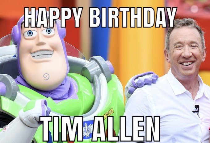 Happy Birthday to Tim Allen