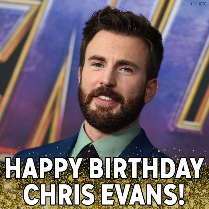 Happy Birthday, Cap! Chris Evans, best known for playing Marvel s Captain America, is celebrating a birthday today.