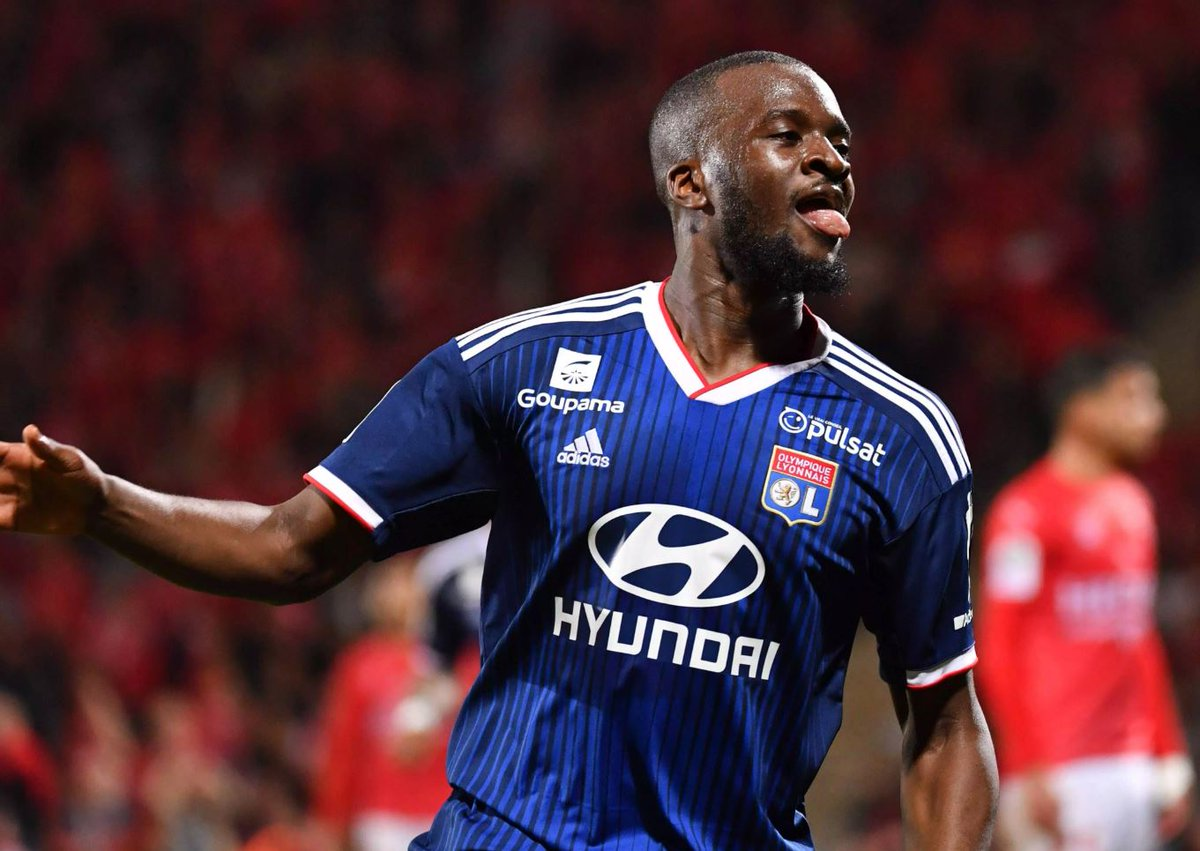 According to reports, we have entered talks with Lyon over midfielder Tanguy Ndombele. It was reported yesterday Spurs had submitted a £60M bid and Juventus and PSG are also monitoring the situation. He is the defensive mid we need in front of the back 4, get it done!!!! #MUFC<br>http://pic.twitter.com/1r7XW0A6Um