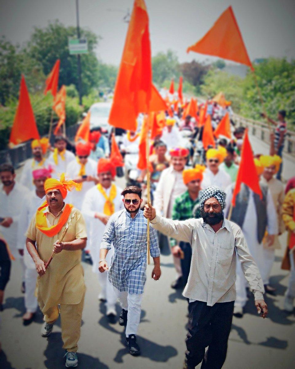 पहचान की जरूरत उन्हें होती है जिनकी कोई शान नहीं होती, हम राजपूत है हमारा तो नाम ही काफी है। #Jai_Rajputana 🚩🚩🚩🚩