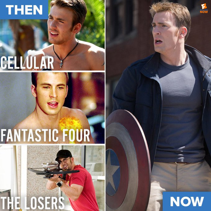 Happy birthday salute to Stay home with Mr. Captain America w/ FandangoNOW: