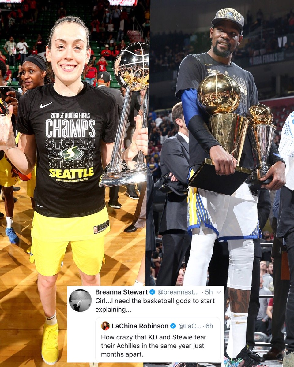 Same 😩 @breannastewart @KDTrey5   Prayers up on speedy recoveries 🙏🏽 Comeback szn about to be crazy.