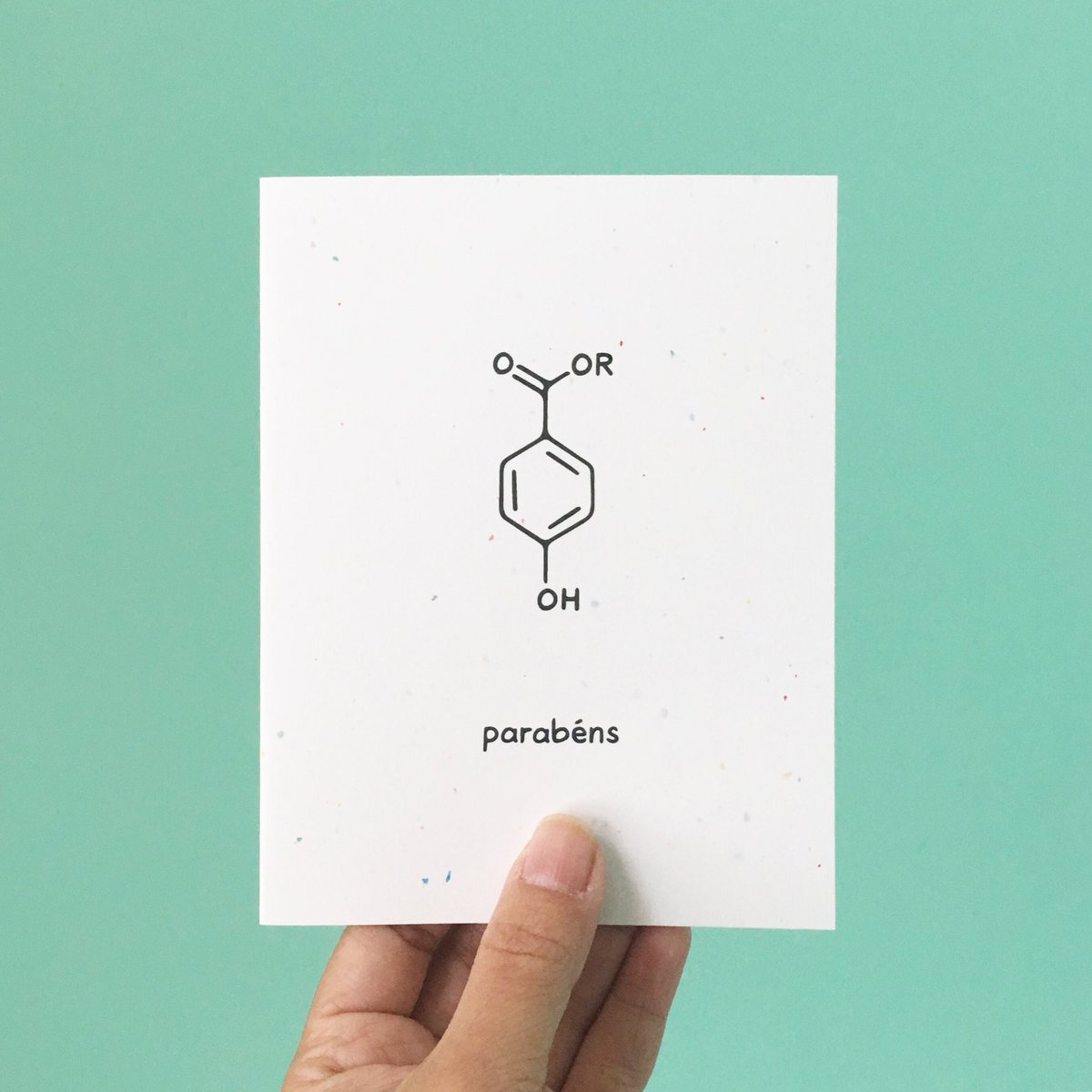 The Chemist Tree V Twitter Learnt A New Word Recently Parabens It Means Congratulations In Portuguese Also Happens To Be A Molecule Fitting For The Mcmasteru Science Convocation Today