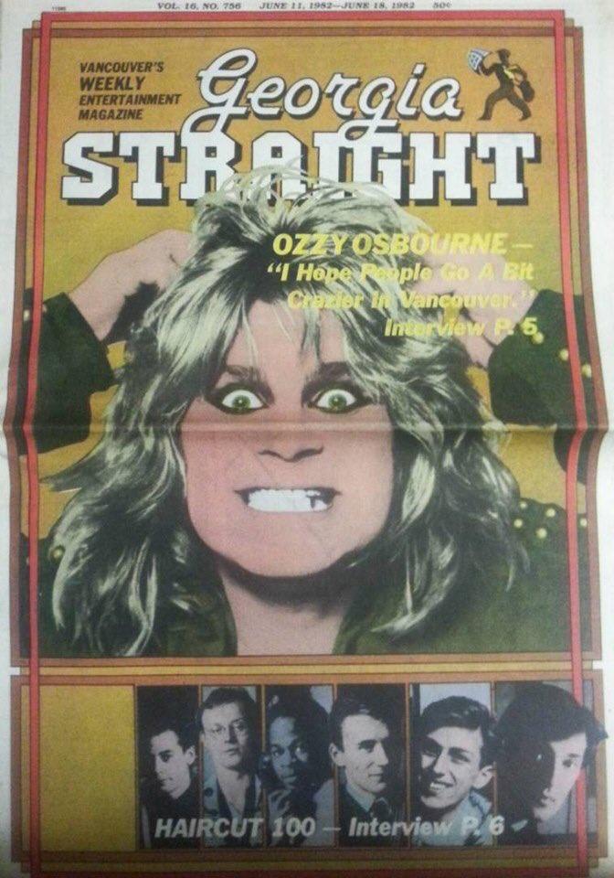 June 1982 on the cover @GeorgiaStraight #tbt