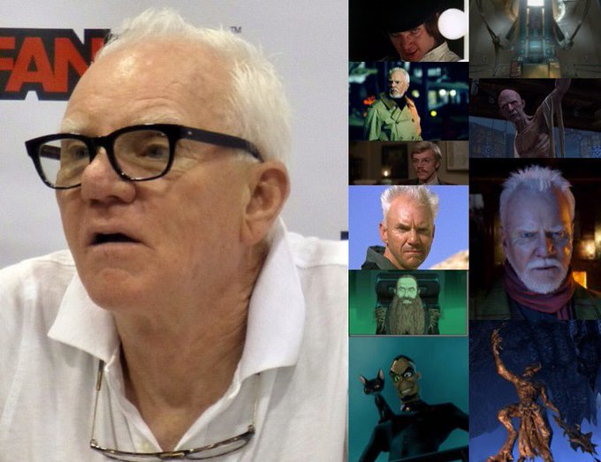 Happy 76th Birthday to Malcolm McDowell!