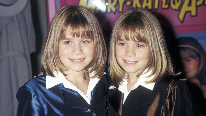 Happy Birthday to the world\s most famous twins. Mary-Kate and Ashley Olsen Hardly Even Look Like Twins These Days