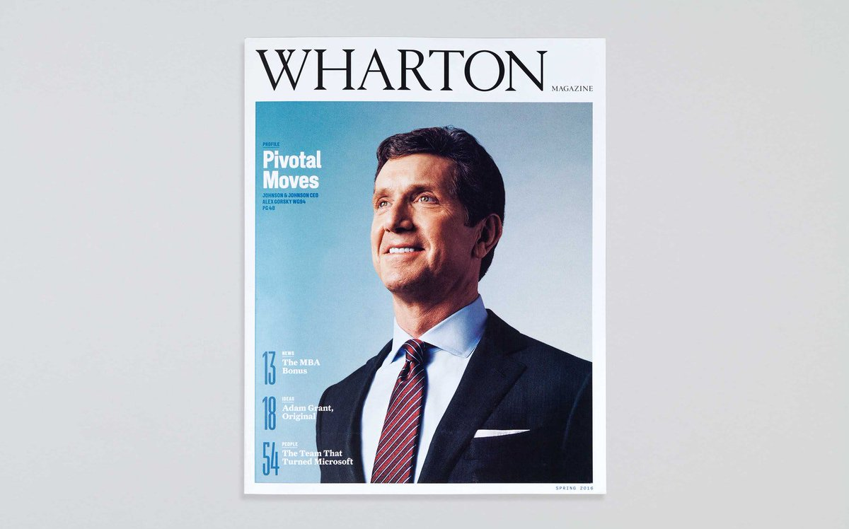 Were thrilled to announce the relaunched @WhartonMagazine, with a redesign by @LukeHayman & team, has been honored with a Gold in the prestigious @CASEAdvance 2019 Circle of Excellence Awards #CASECOE case.org/awards/circle-… pentagram.com/work/wharton-m…