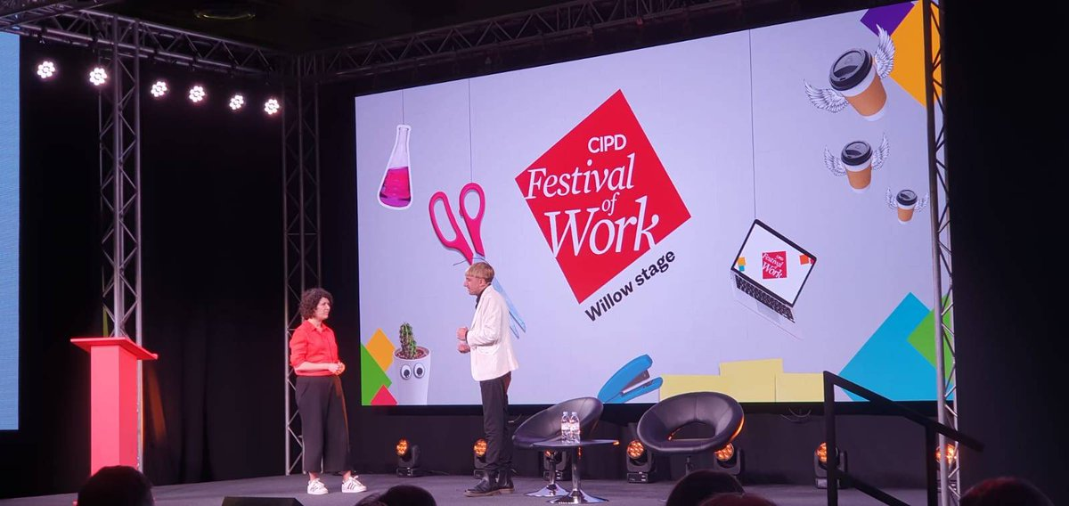 We as a society need to be prepared for this new diversity @NeilHarbisson on a new type of diversity #FestivalofWork