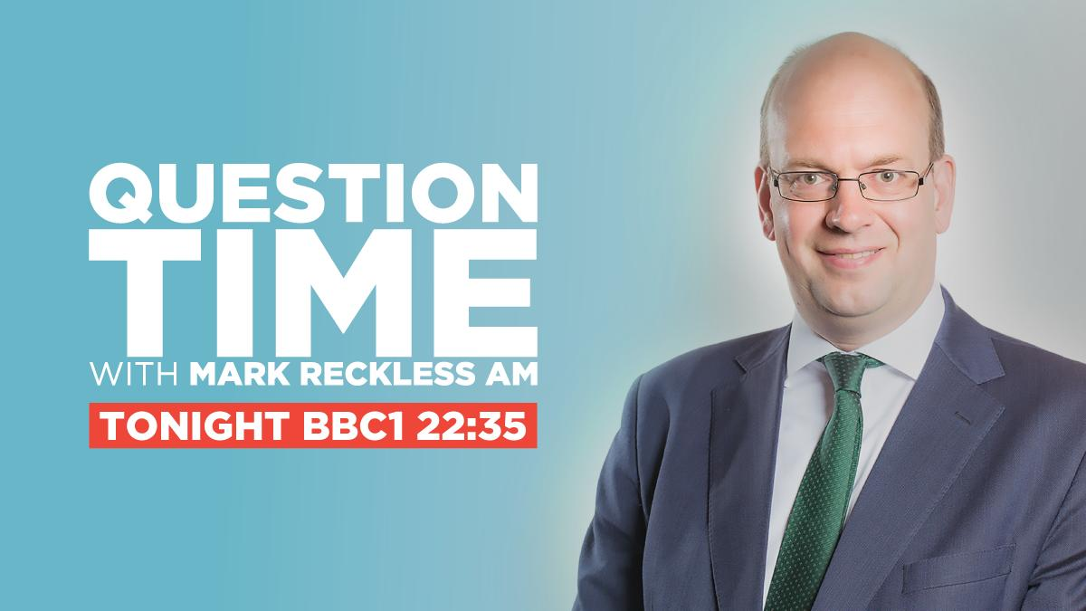 Watch Question Time tonight with Mark Reckless of The Brexit Party!