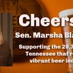 Image for the Tweet beginning: Thanks @MarshaBlackburn for sponsoring the