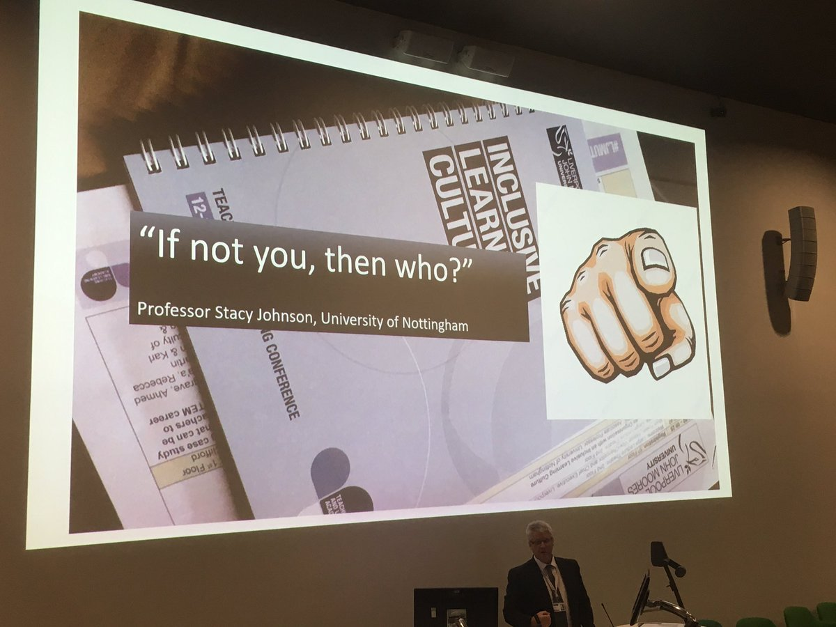 Insightful words from our PVC Education, ending where we began 'If not you, then who?' #LJMUTLC19 @LJMUTLA @LJMU
