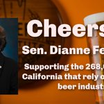 Image for the Tweet beginning: Thanks @SenFeinstein for sponsoring the
