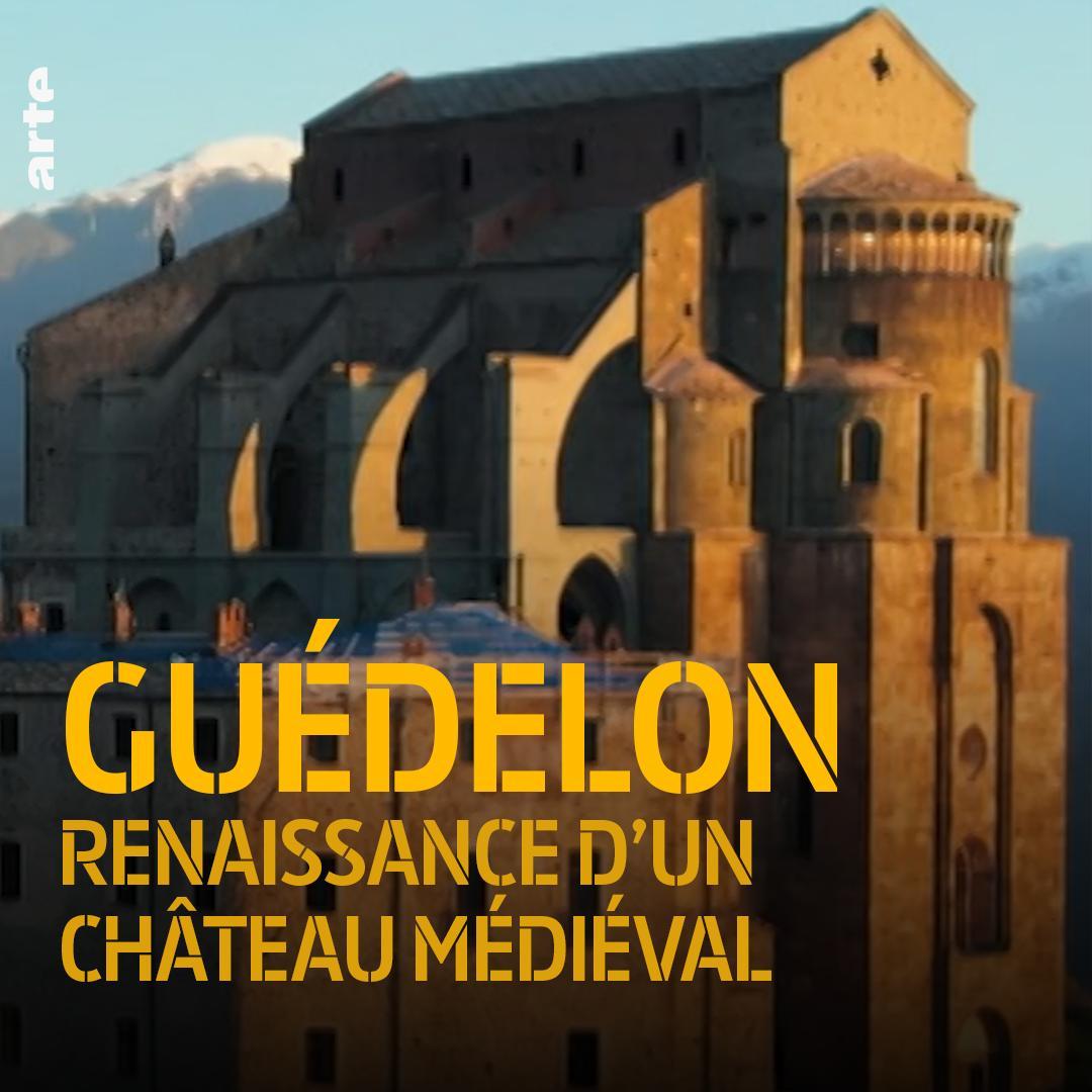 Bien loin de la vie de château, ces « œuvriers » en construisent un dans les conditions du Moyen-Âge. ⤵ http://so.arte/GuedelonII