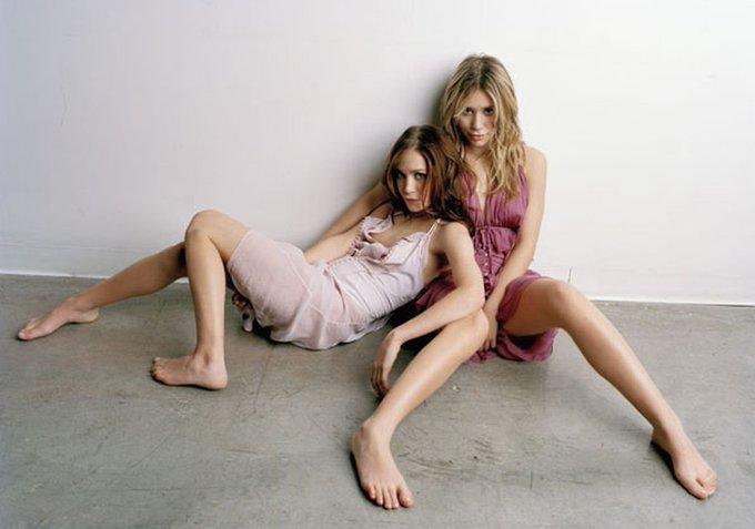 Wishing Mary Kate and Ashley Olsen a very happy fucking birthday