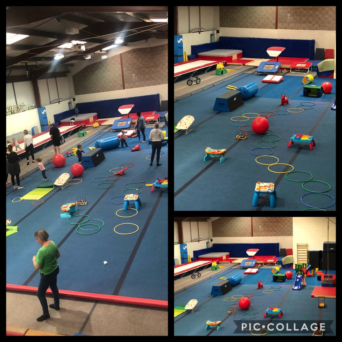 Come & join us for GymPlay!   Tuesdays & Thursdays 11:30am-12:30pm!  Just £2 per child 😄  #WyeAndGalaxy #WGGC #Gymnastics #GymPlay #PreSchool #Fun #TinyHumans