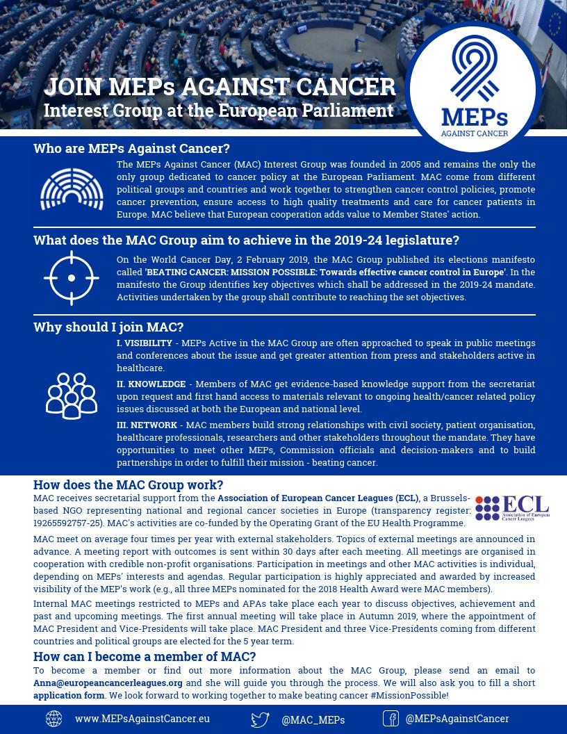 MEPs Against Cancer (@MAC_MEPs) | Twitter