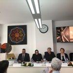 Image for the Tweet beginning: #بروكسل | #السفير_الأحمد يحضر منتدى