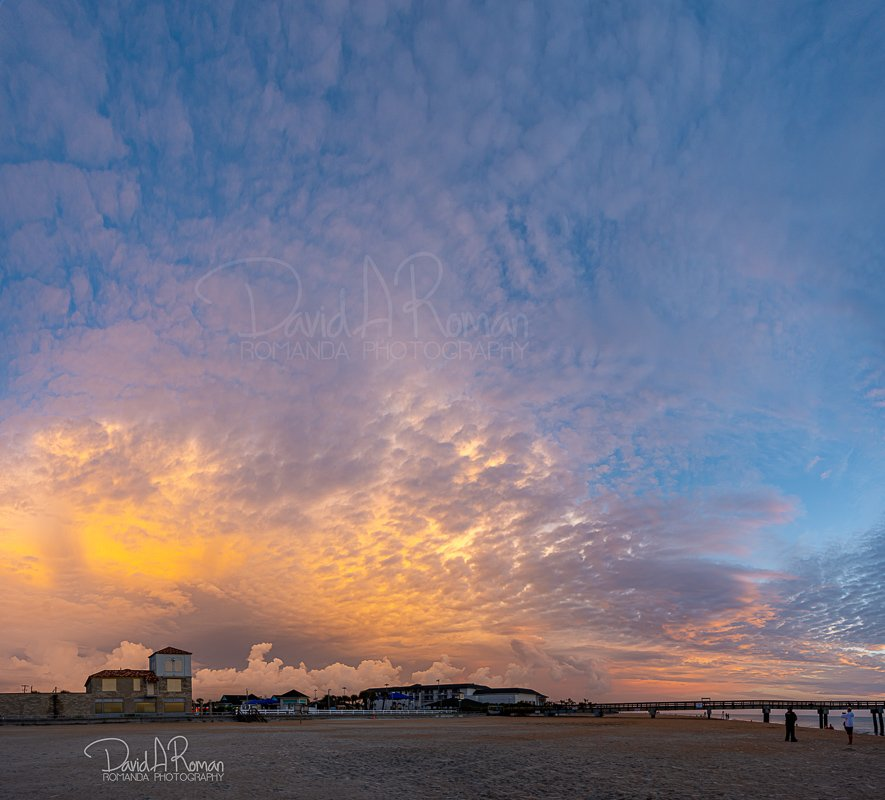 Was shooting the sunrise (see previous shot), and looked behind me toward St. Augustine.  #Storms #StAugustineBeach #Florida @weatherchannel @accuweather @TODAYshow @alroker @wxbrad @sunrisedailynow #clouds #stormfront #weather @weather__pics @StephanieAbrams @JimCantore