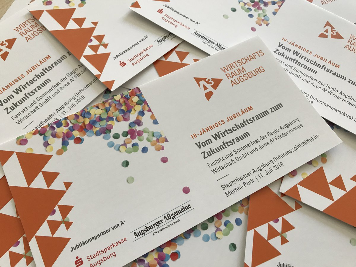 test Twitter Media - Genau heute in vier Wochen findet unser großes Sommerfest zum 10-jährigen Jubiläum statt! Gleich anmelden unter https://t.co/7kO2O0DkWD Danke auch an unsere Exklusivpartner und -sponsoren @AZ_Augsburg und @SSK_Augsburg 🥳🥳 https://t.co/834leAR0IO