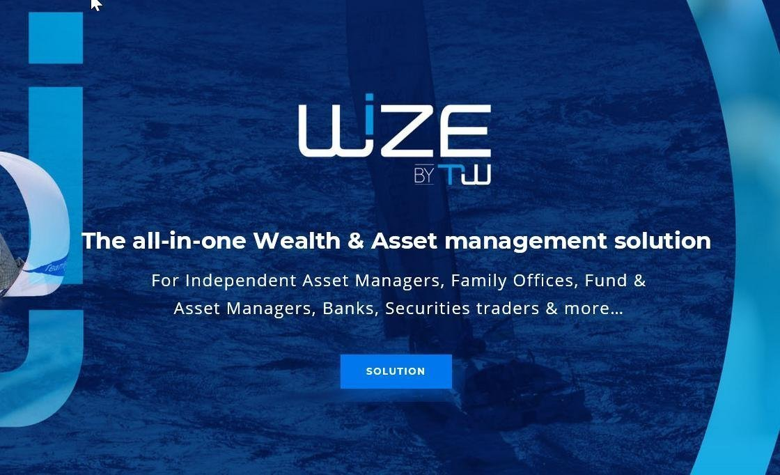 Image for the Tweet beginning: Discover our #wealthmanagement solution, Wize,