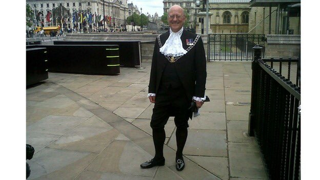 As for the third, trivial, point, it's true that our ushers don't match the medieval fancy-dress standards of Westminster.  Perhaps you could suggest they add a lace stock and tights to their uniforms so that you feel at home? <br>http://pic.twitter.com/F2slrXTwmO
