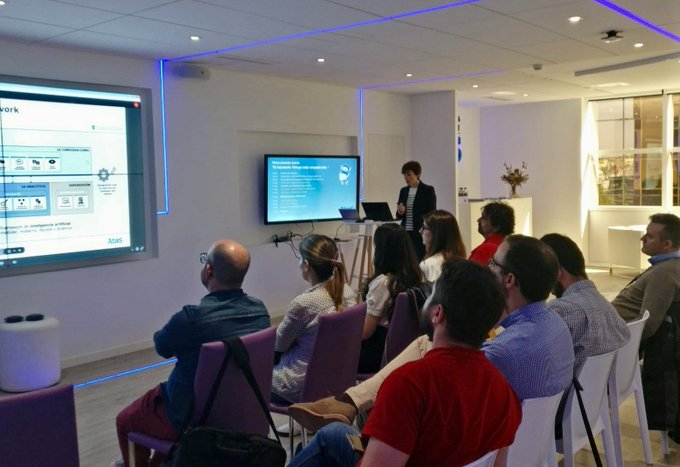 Hoy compartimos nuestra experiencia sobre en Smart Assistant, #RPA y #DevOps con @Telefonica...