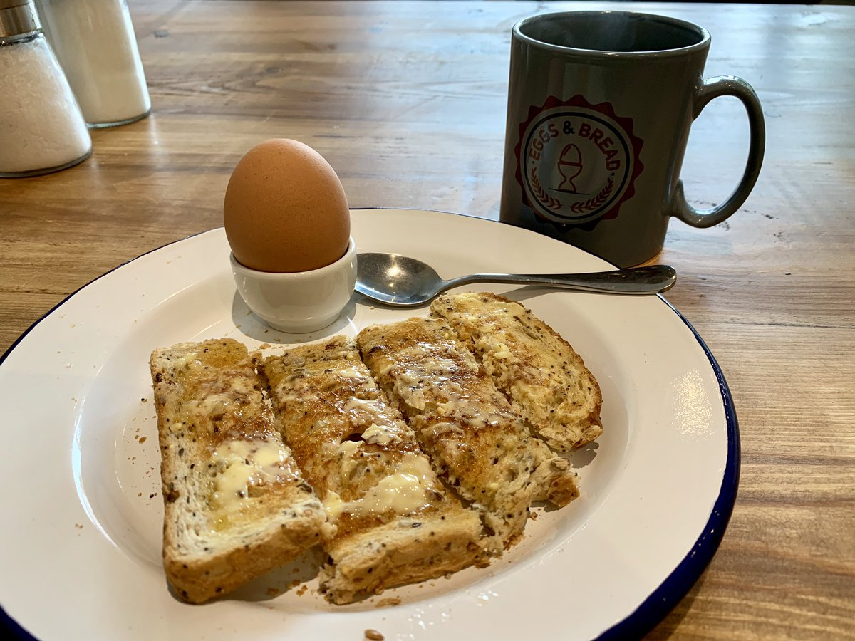 £20 for a boiled egg, one piece of toast and a mug of tea?  The story of a modern London cafe...  (Read to end of thread before commenting!)