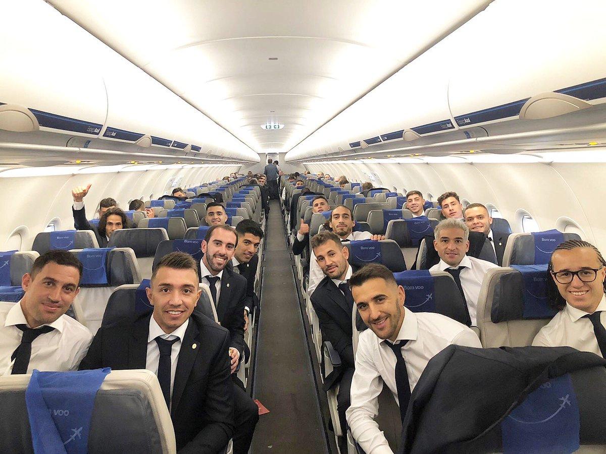 Nos vamos a la @CopaAmerica!!  Uruguay noma!!! 🇺🇾