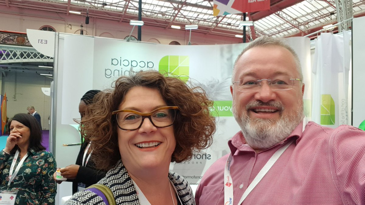 Super day so far @ #festivalofwork #cipd @Acacia_Learning lots of great discussions and networking 🥳🥳