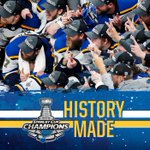 Image for the Tweet beginning: Your #stlblues are champions!!! Celebrate